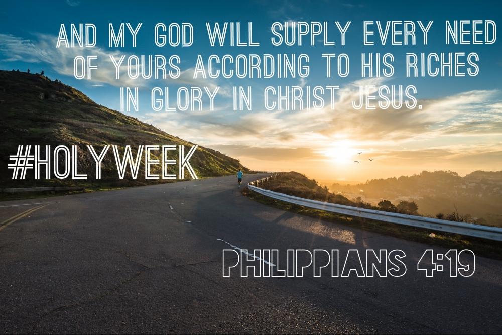 #holyweek