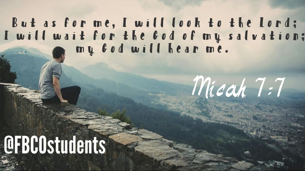 Micah7-7