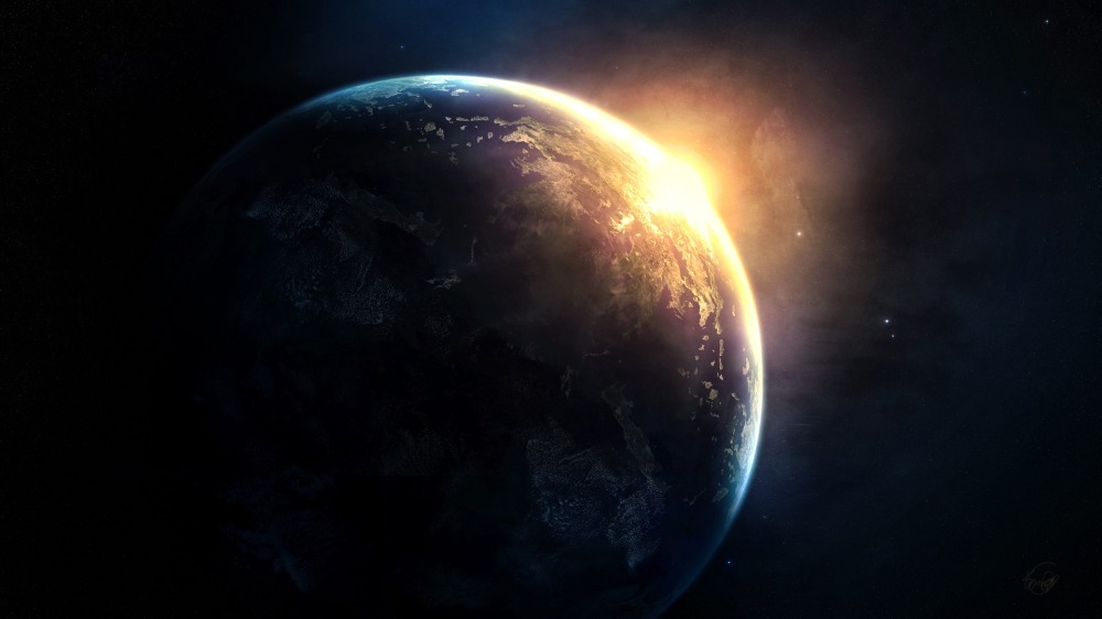 planet-sunrise